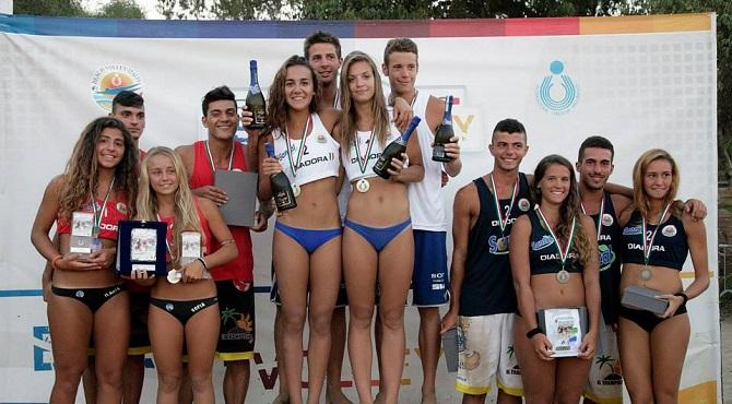 Calendario Volley.Beach Volley Il Calendario Del Campionato Nazionale U19