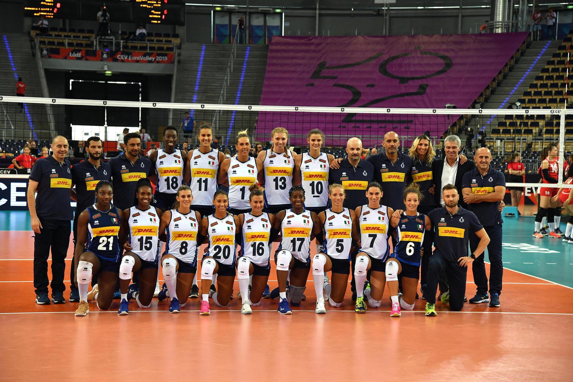 Calendario Campionato Portoghese.Campionato Europeo 2019 Esordio Ok Per Le Azzurre Netto 3