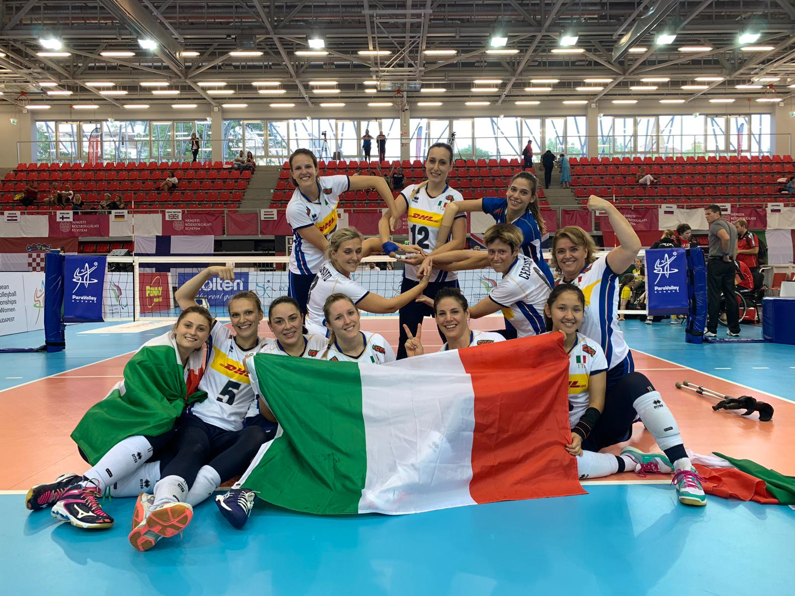 L'Italia del Sitting Volley è in finale dell'Europeo