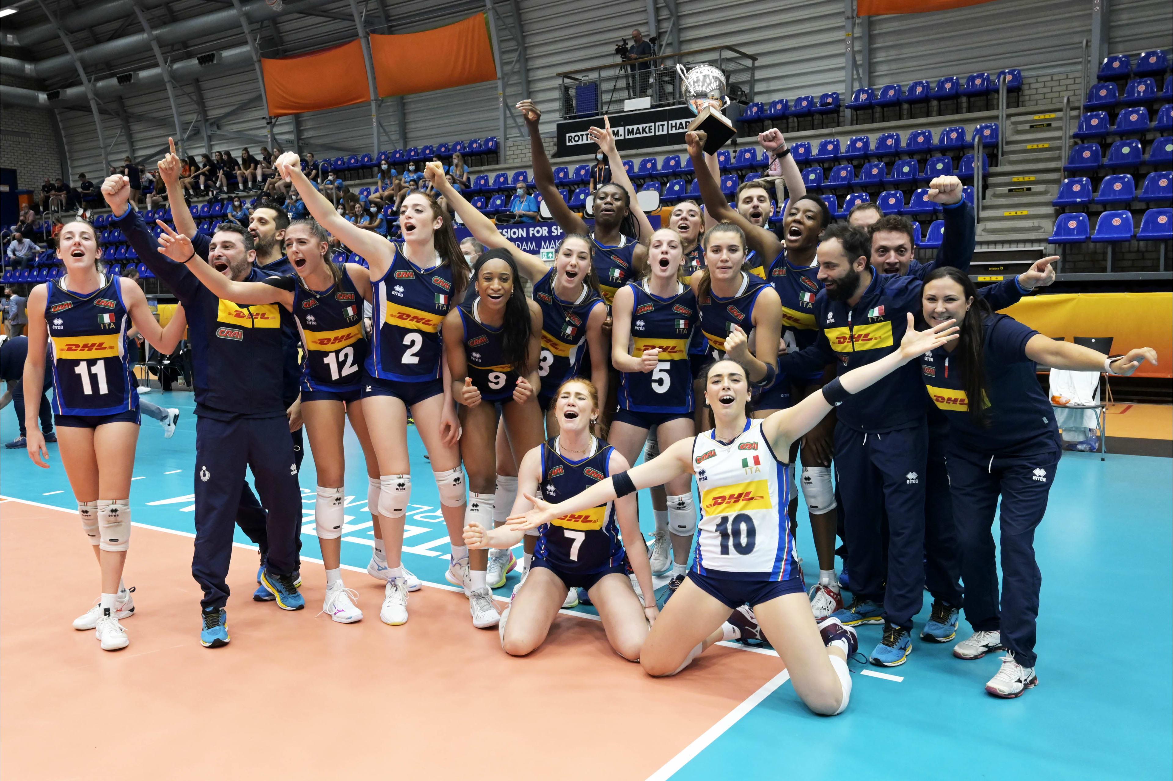 Italia campione del Mondo Under 20: trionfo azzurro con 8 ragazze del Volleyrò