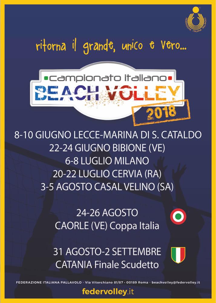 Carte Italie Bibione.Beach Volley Il Campionato Italiano Assoluto Fa Tappa A Bibione