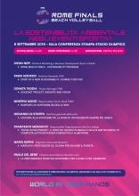 Rome Beach Volley Finals: il 5 settembre un convegno sulla sostenibilità