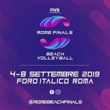 Rome Beach Volley Finals: la formula e il programma del torneo